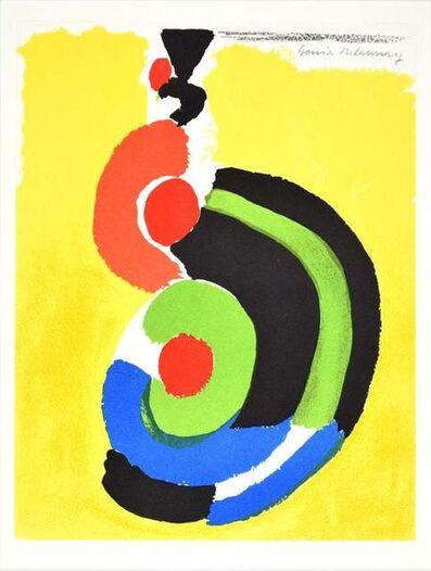 Sonia Delaunay, 'Contraste de Formes ', 1969