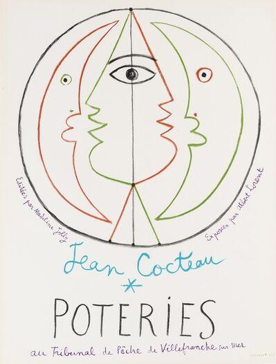Jean Cocteau, 'Poteries', 1954