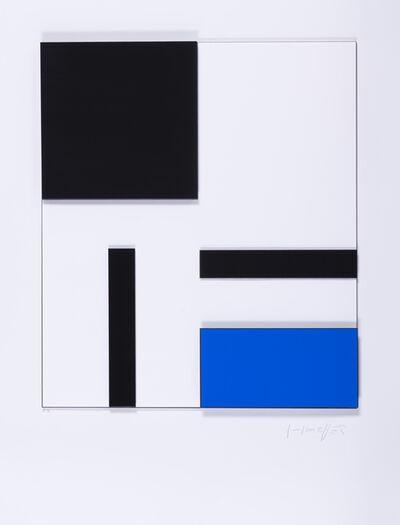 Gottfried Honegger, 'Composition géométrique', 2014