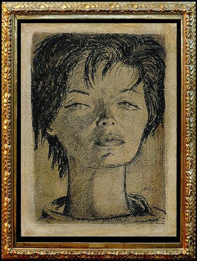 Angel Botello, 'Portrait of Glamour', Mid-20th Century