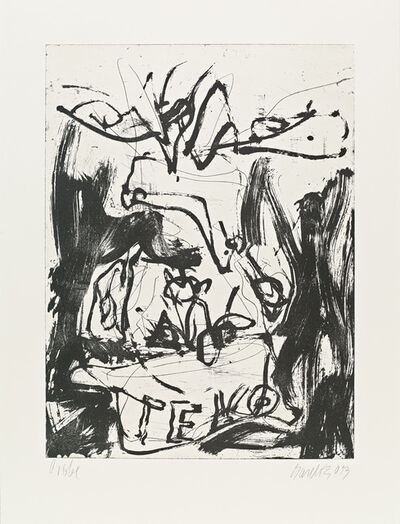 Georg Baselitz, 'Fare Well Bill', 2014