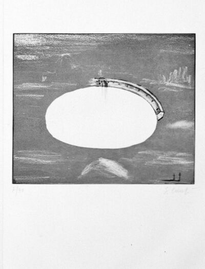 Enzo Cucchi, 'Louisiana', 1985