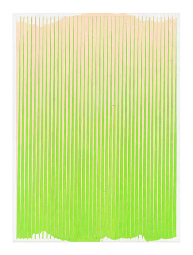 Andrew Brischler, 'Lonely Planet (Sand / Spring Green)', 2016-2017