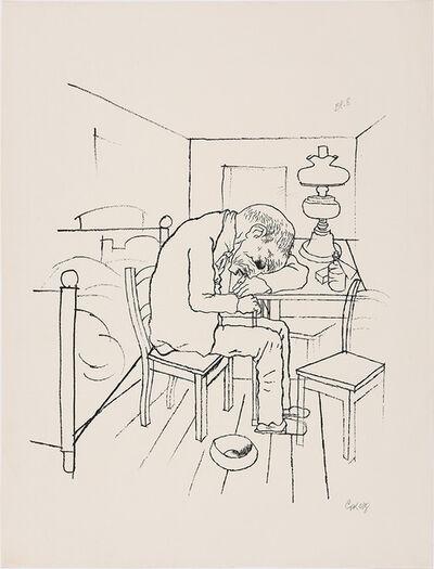 George Grosz, 'Schwimme, Wer Schwimmen Kann, Und Wer Zu Plump Ist, Geh' Unter! (Dückers M V8)', 1921