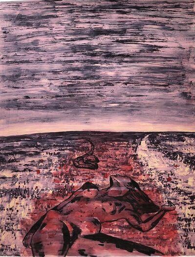 Nicky Nodjoumi, 'Crawling Snake', 2002