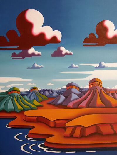 Joseph Comellas, 'Overlook Peak (original oil on canvas) ', 2020