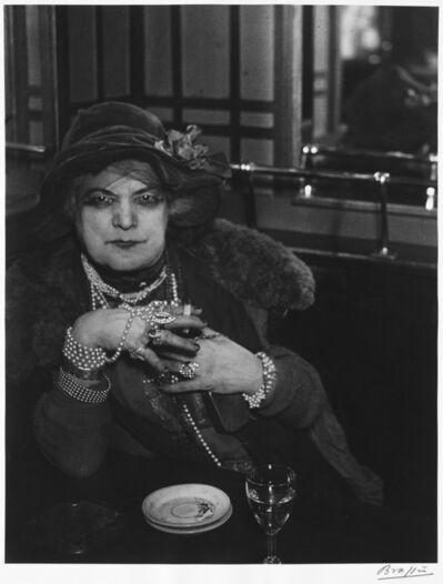 Brassaï, 'Madame Bijou at the Bar de la Lune, Paris'