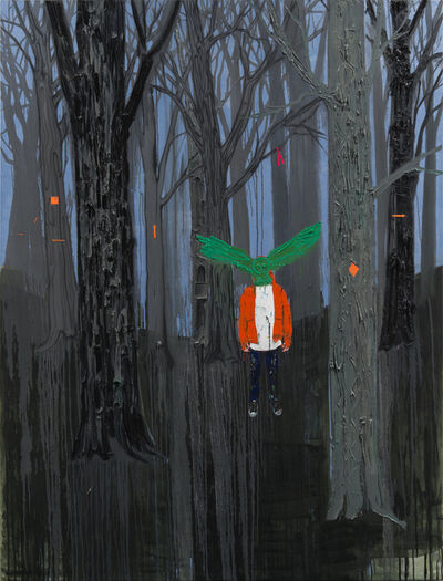 Kim Dorland, 'Lost', 2017