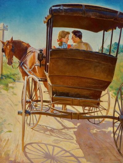 Frederick Sands Brunner, 'The Carriage Ride', 20th Century