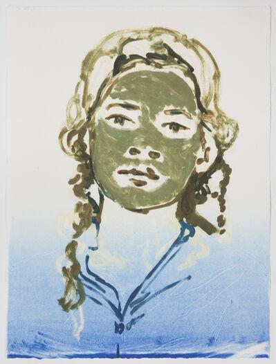 Claire Tabouret, 'Portrait with Mud Mask', 2018