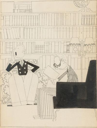John Held Jr., 'The Highbrow', 1919