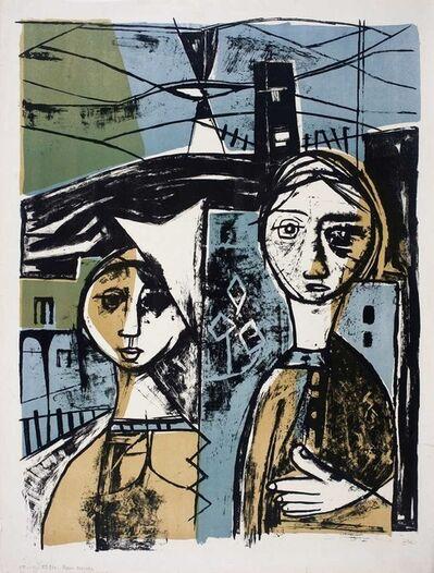 Ram Kumar, 'UNTITLED (TWO SISTERS)', 1958