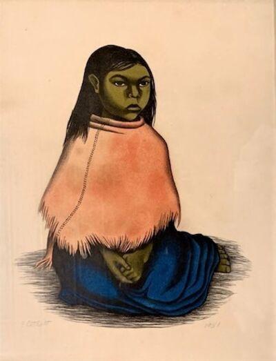 Elizabeth Catlett, 'Sentado Nina', 1951