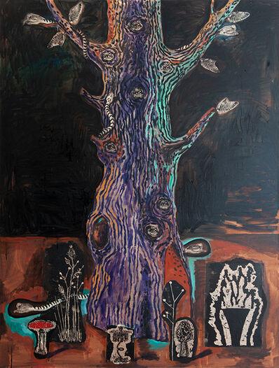 Damien Deroubaix, 'Baum III', 2019