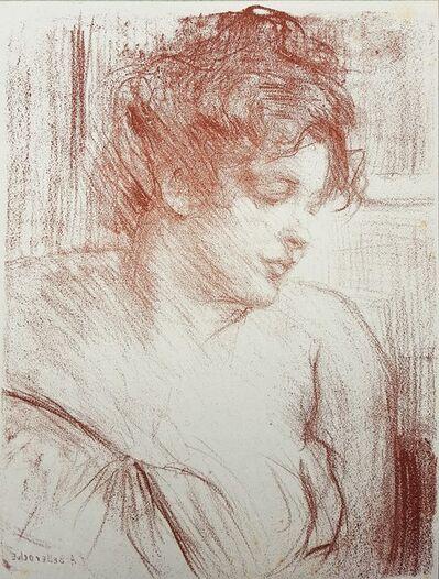 Albert de Belleroche, 'Etude (Study)', 1904