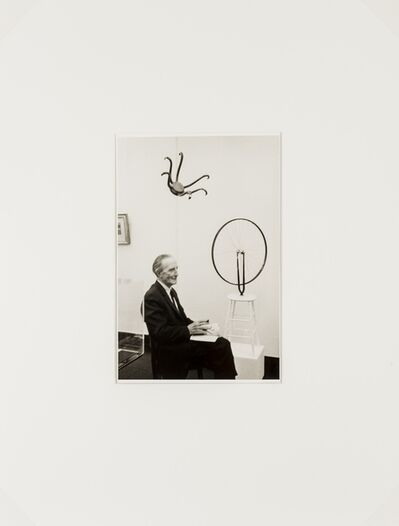 Umbo, 'Marcel Duchamp meme (from Re-object Mythos)', 2007