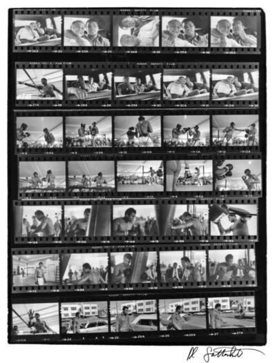 Al Satterwhite, 'Muhammad Ali Contact Sheet', 1971