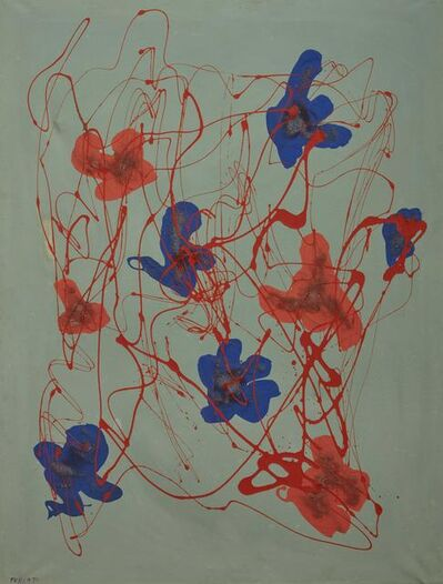 Giulio Turcato, 'Floral', executed in 1971