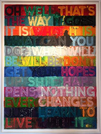 Mel Bochner, 'Oh Well ', 2014