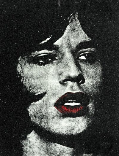 Russell Young, 'Mick with Red Lips', 2011