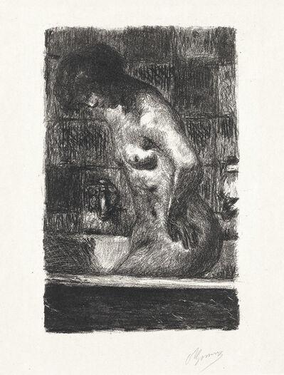 Pierre Bonnard, 'Femme debout dans sa baignoire', 1925