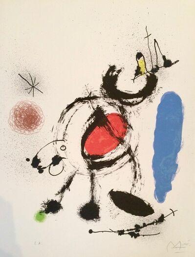 Joan Miró, 'L'oiseau migrateur ', 1970