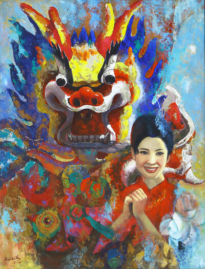 Ren Jian Hui, 'Chinese New Year ', 2001