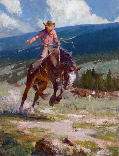 Grant Redden, 'High Country Bronco', 2021