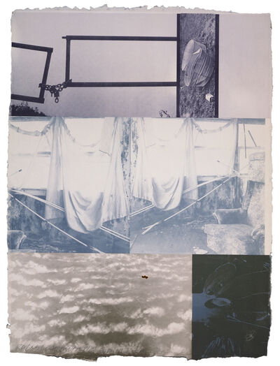 Robert Rauschenberg, 'Rookery Mounds - Yardarm', 1979