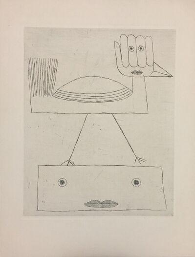Victor Brauner, 'Codex d'un visage', 1962