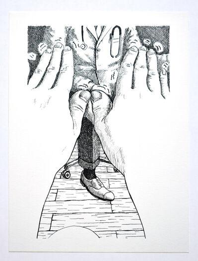 Gaku Tsutaja, 'I heard frogs croaking last night. Chapter 2: The Shaking of My Hands', 2016