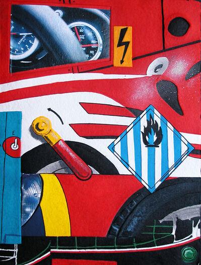 Peter Klasen, 'Ferrari'