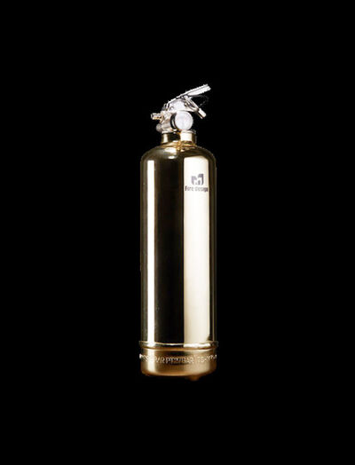 Jaler Fine Art, 'Extinguisher LUXURY Gold', 2020