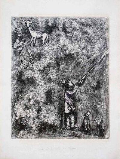 Marc Chagall, 'Le Cerf et la Vigne', 1930