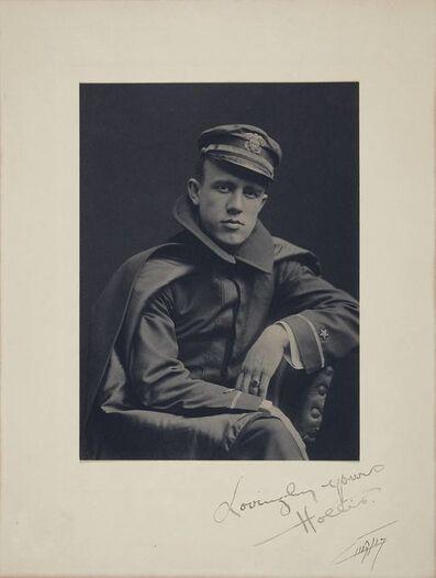Edward Sheriff Curtis, 'Portrait of a man in uniform'