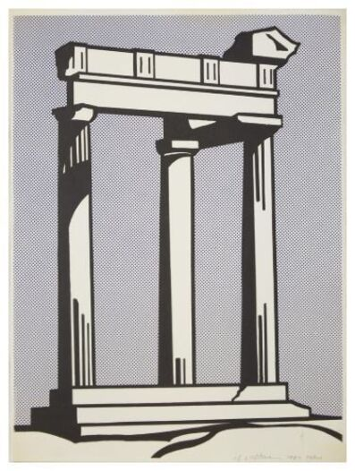 Roy Lichtenstein, 'Temple', 1964
