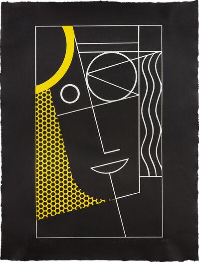 Roy Lichtenstein, 'Modern Head #2, from Modern Head series', 1970