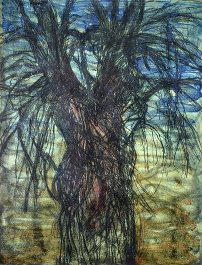 Jim Dine, 'Tree (A Female Robe for Karen McCready)', 1981