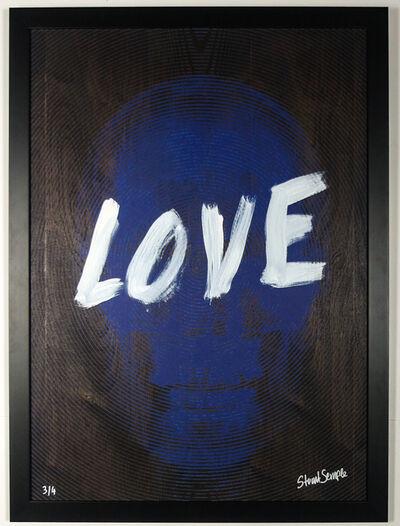 Stuart Semple, 'My Heaven is Inside (Blue Love) '