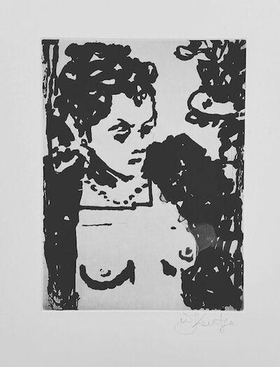 William Kentridge, 'Untitled, Lulu Portrait ', 2016