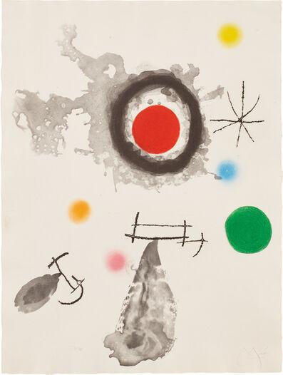 Joan Miró, 'Astre et fumée (Star and Smoke) (D. 424)', 1967
