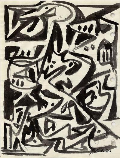 Jan Matulka, 'Untitled Abstraction', 1940-1950