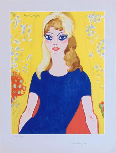 Kees van Dongen, 'Brigitte Bardot', 1958