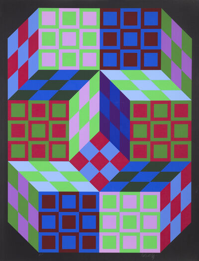 Victor Vasarely, 'Carden', 1980