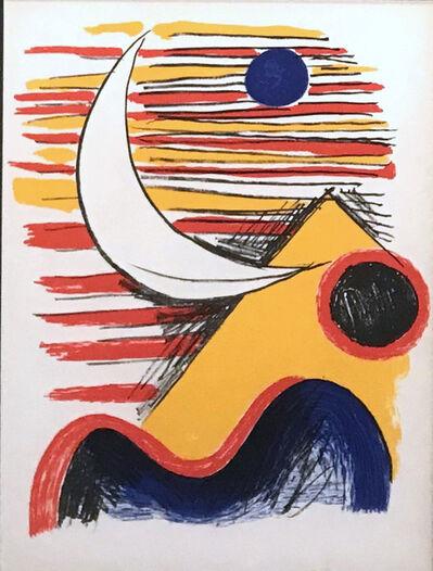 Alexander Calder, 'La Lune et La Montagne Jaune', 1960