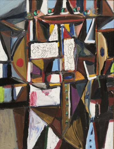 George Condo, 'Verticle Abstraction', 1989