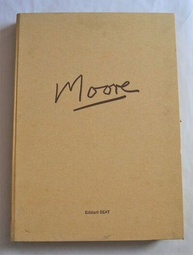 Henry Moore, 'Henry Moore - Complete folder with 50 lithographs with printed signatures, edited by Carmine Benincasa.', 1983