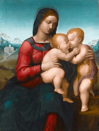 Domenico di Bartolomeo Ubaldini known as Il Puligo, 'Virgin and Child with the Infant Saint John', ca. 1515