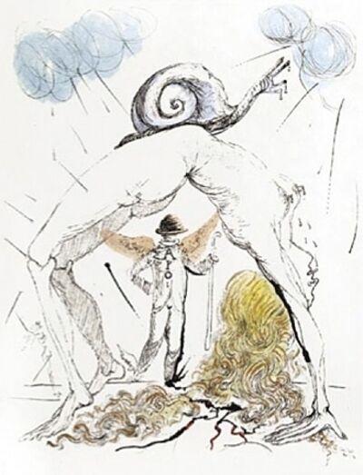 Salvador Dalí, 'Femme a l'Escargot (Woman with Snail)', 1967