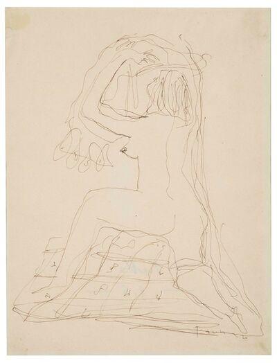 Lucio Fontana, 'Nudo femminile di schiena', 1936